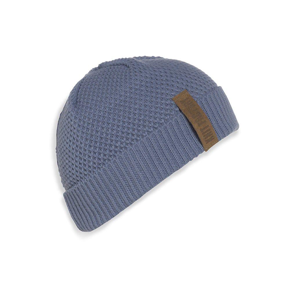 knit factory 1237032 jazz beanie indigo 1