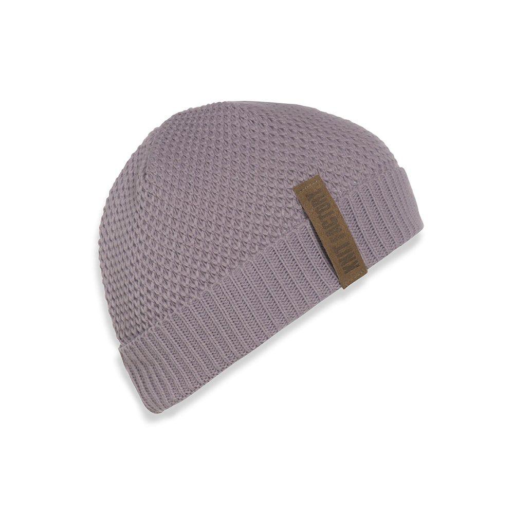 knit factory 1237034 jazz beanie mauve 1