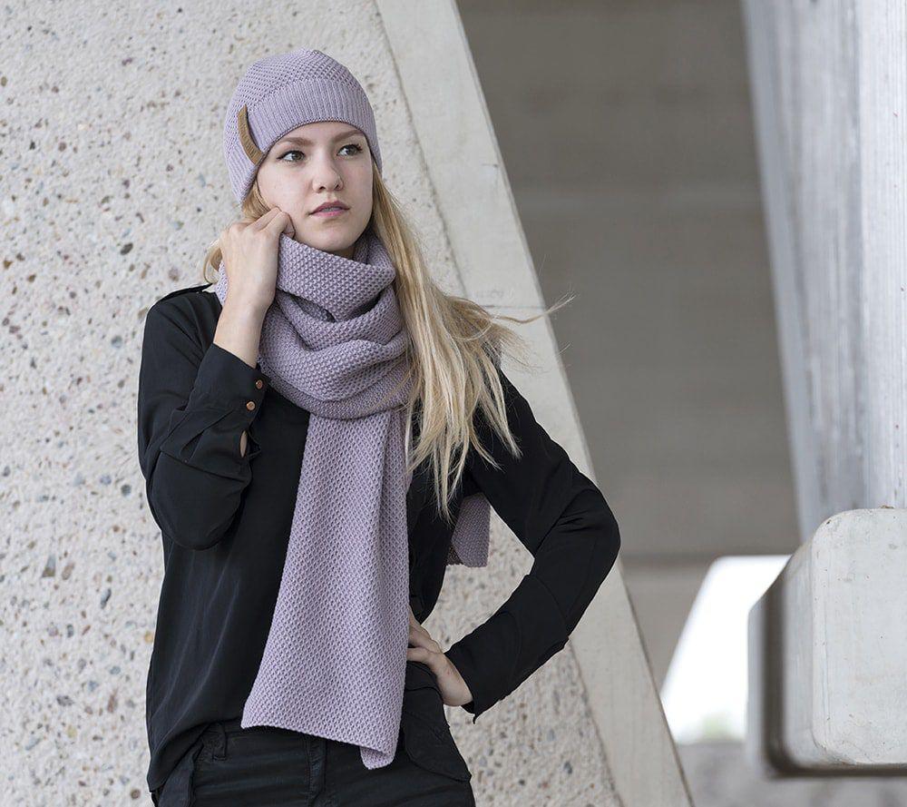knit factory 1237034 jazz beanie mauve 3