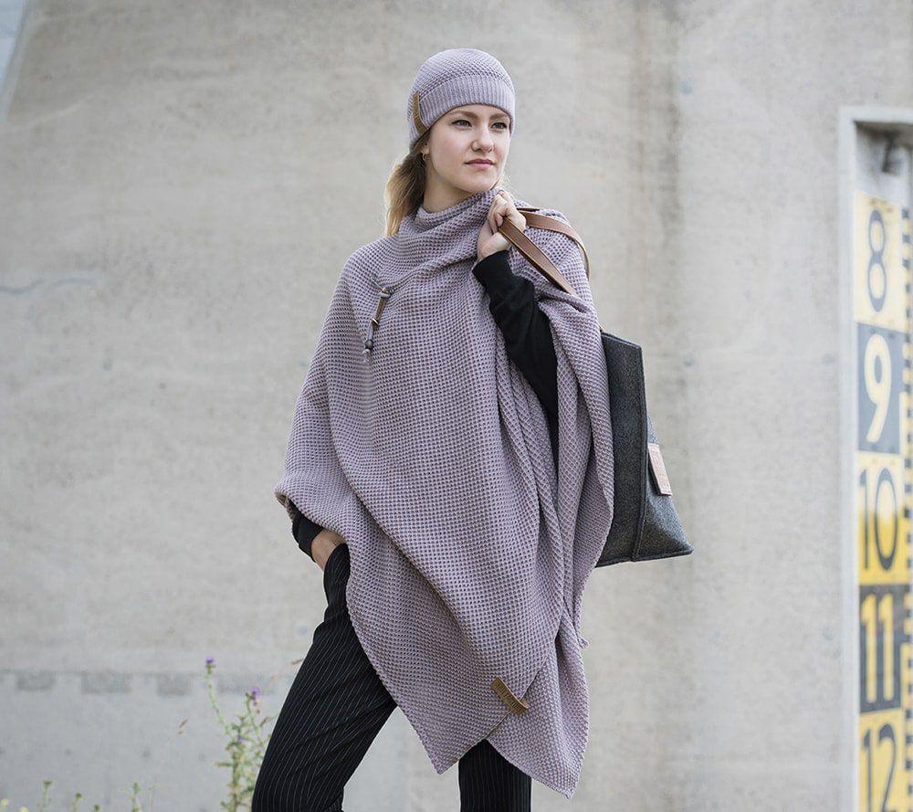knit factory 1237034 jazz beanie mauve 5