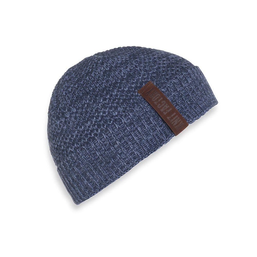 knit factory 1237054 jazz beanie jeans indigo 1