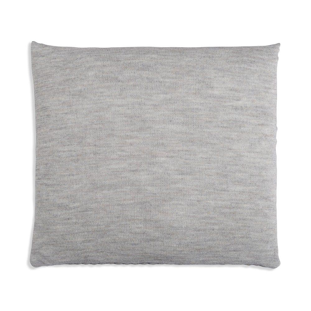 knit factory 1241249 kussen 50x50 juul licht grijs beige 2