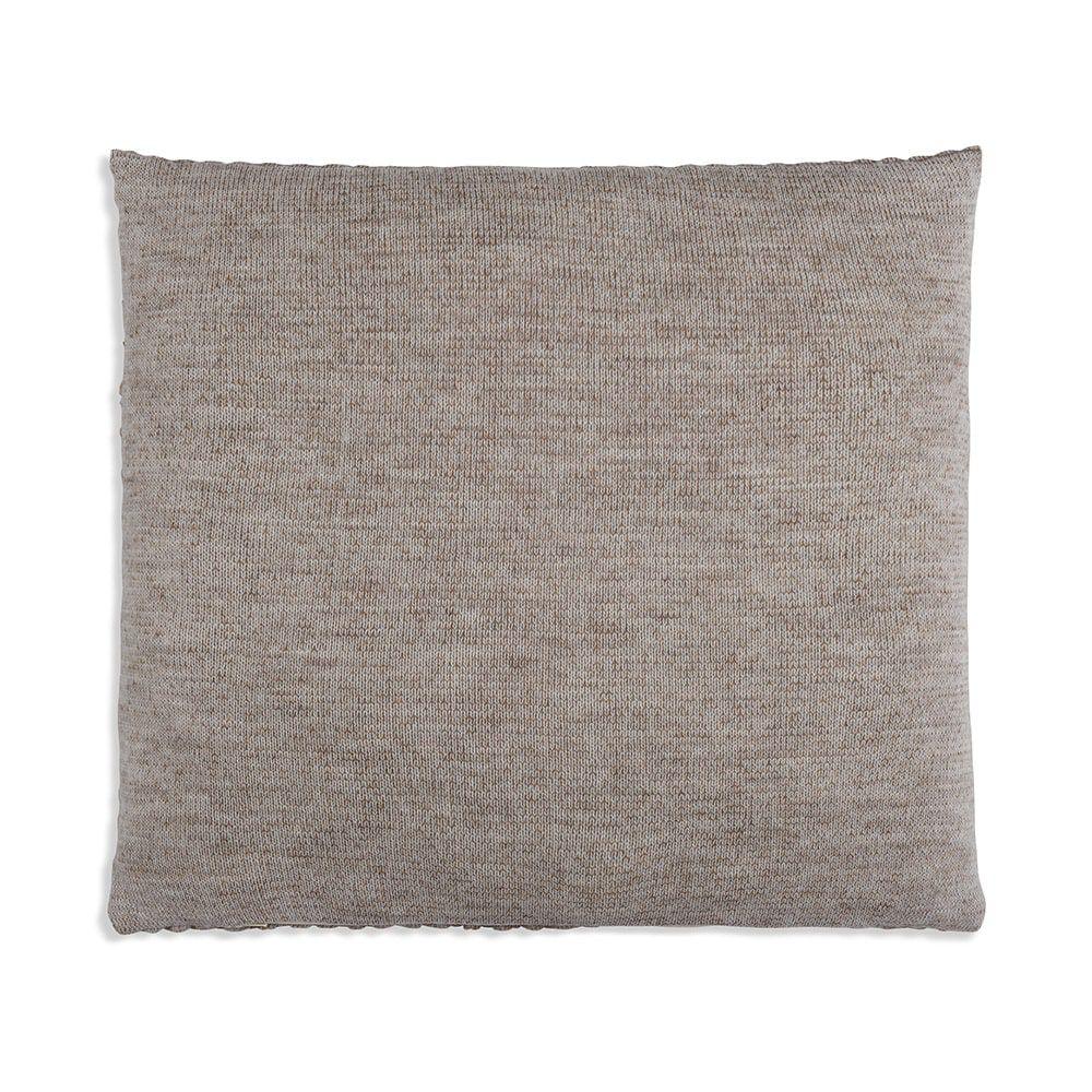 knit factory 1241253 kussen 50x50 juul marron beige 2