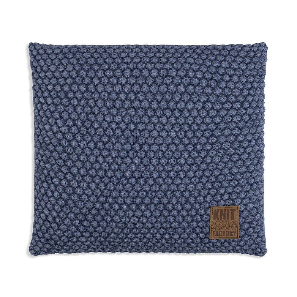 knit factory 1241254 kussen 50x50 juul jeans indigo 1