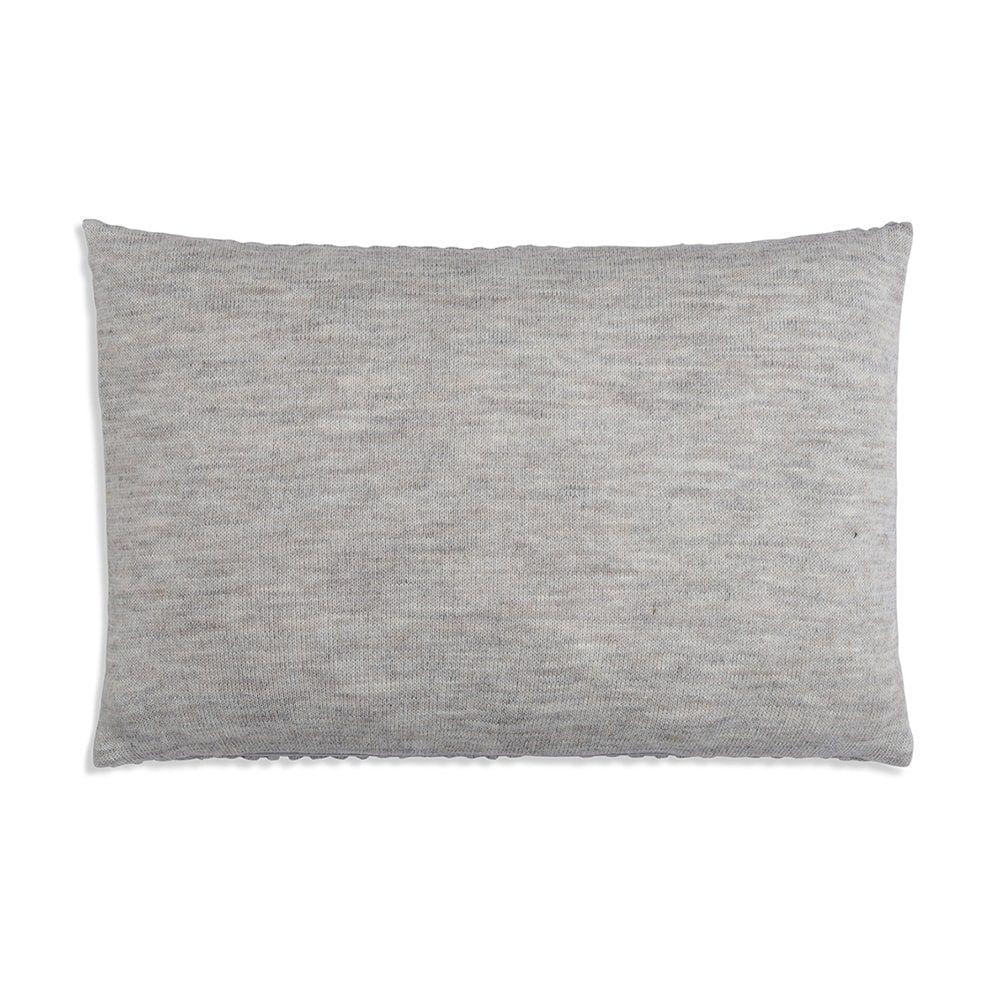 knit factory 1241349 kussen 60x40 juul licht grijs beige 2