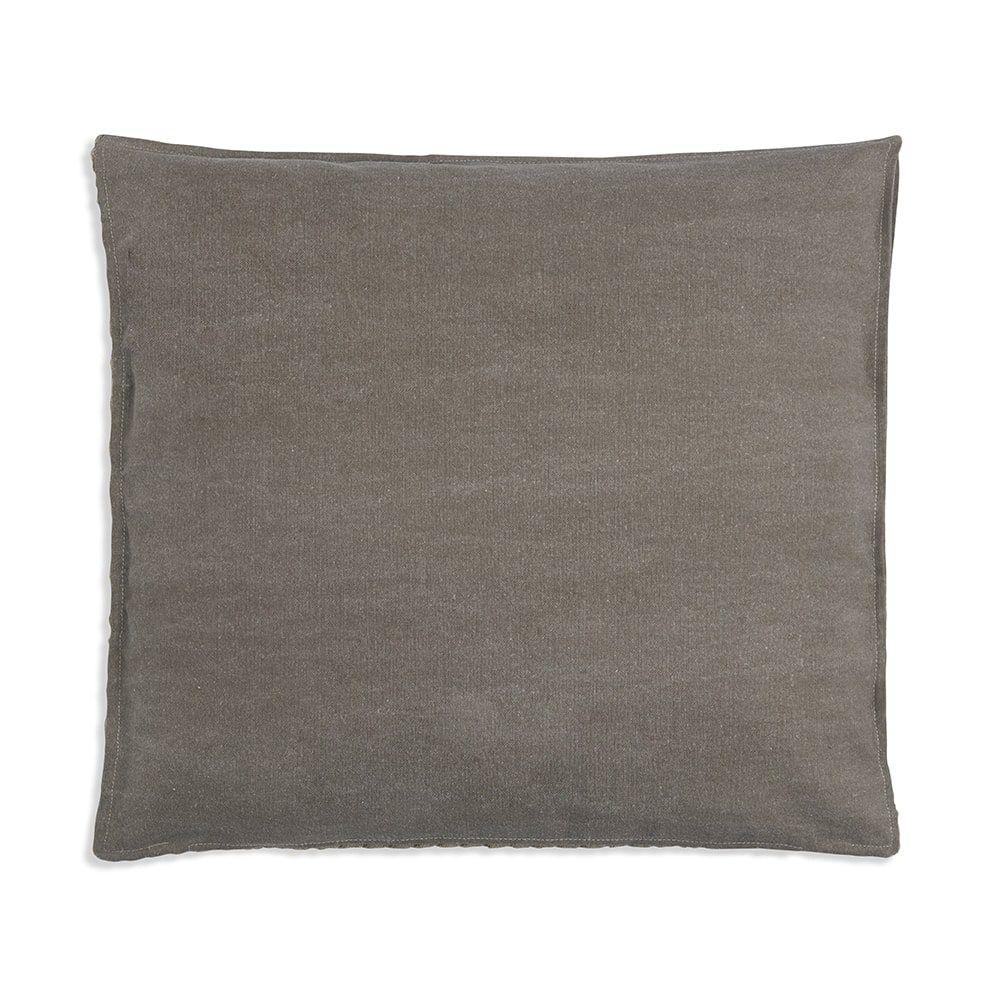 knit factory 1251244 kussen 50x50 jack groen olive 2