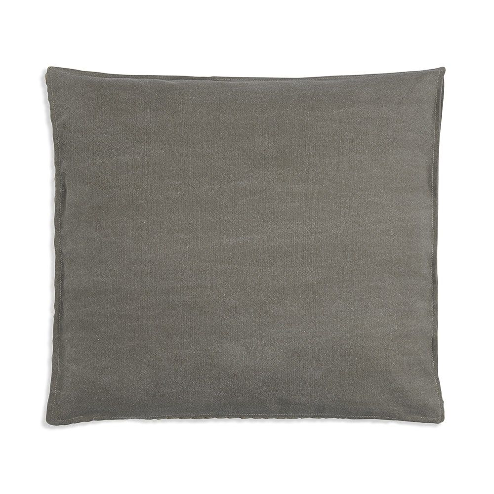 knit factory 1251257 kussen 50x50 jack seda olive 2