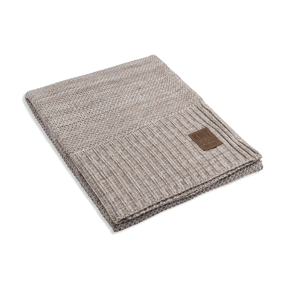 knit factory 1261102 plaid zoe beige melee 1