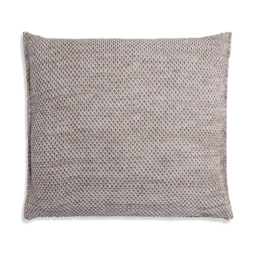 knit factory 1261202 kussen 50x50 zoe beige melee 2