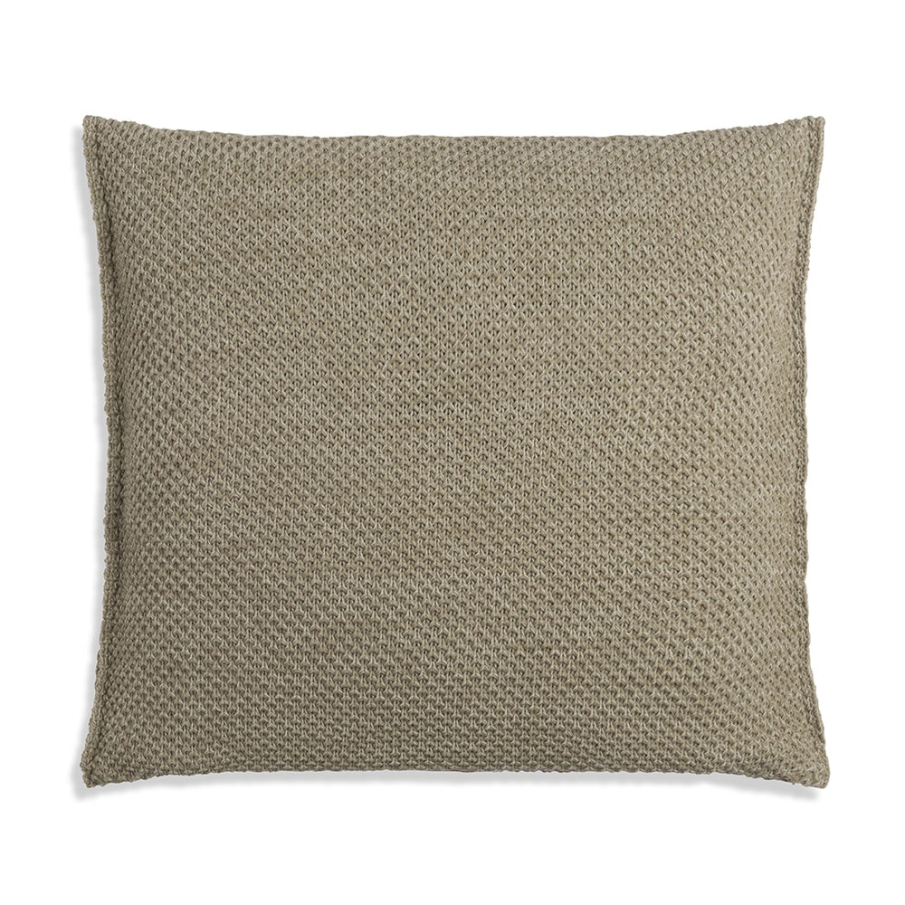 knit factory 1261293 kussen 50x50 zoe olive melee 2