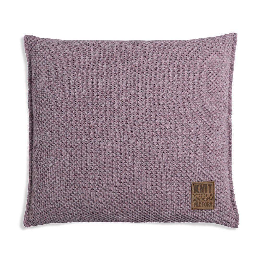 knit factory 1261295 kussen 50x50 zoe heartwood melee 1