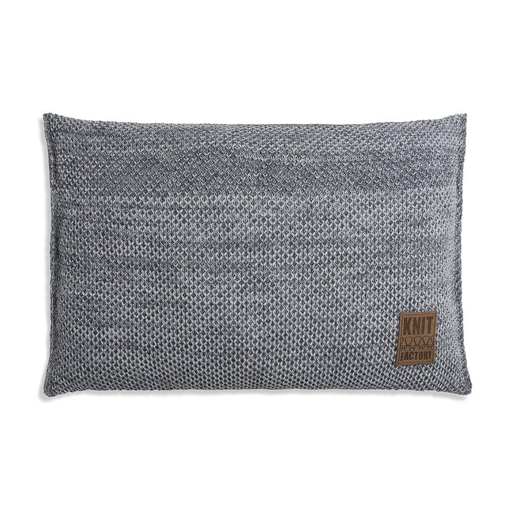 knit factory 1261301 kussen 60x40 zoe licht grijs melee 1