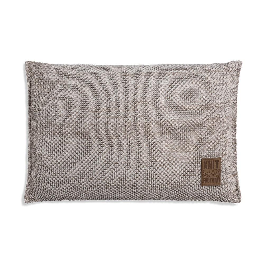 knit factory 1261302 kussen 60x40 zoe beige melee 1