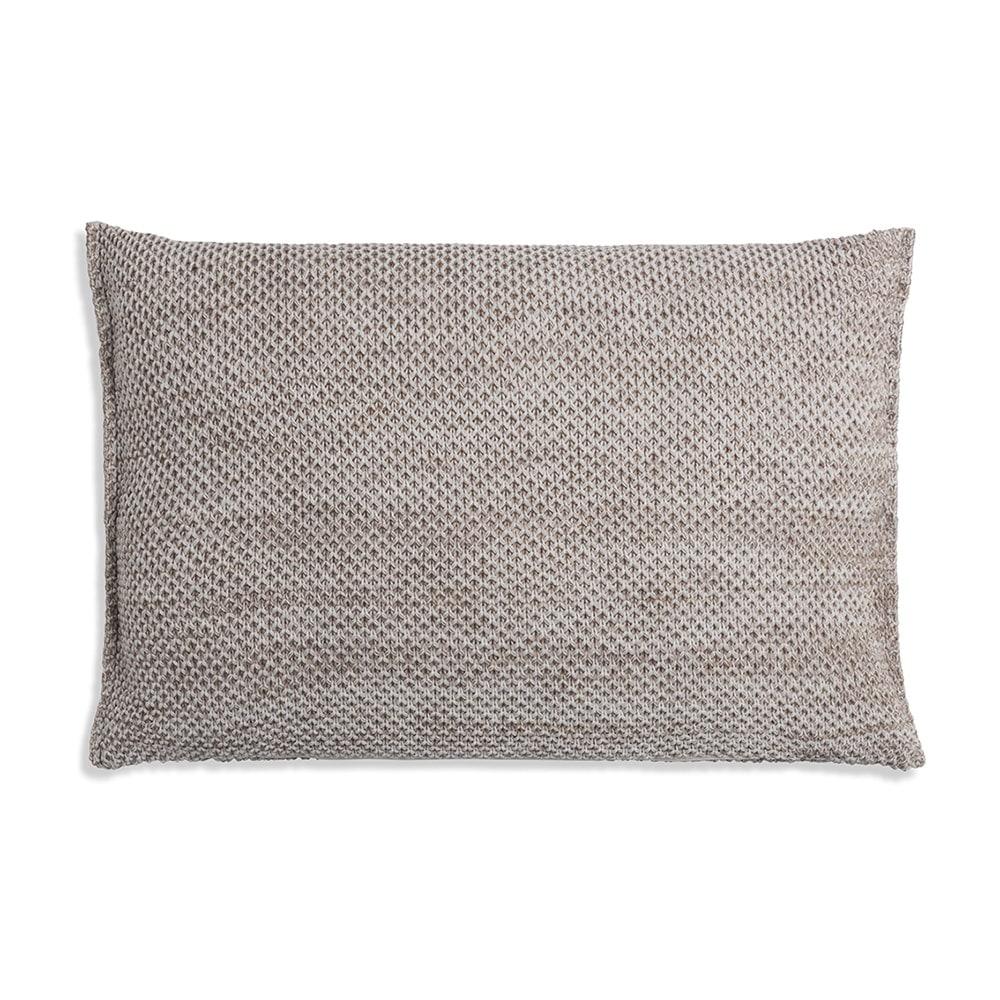 knit factory 1261302 kussen 60x40 zoe beige melee 2