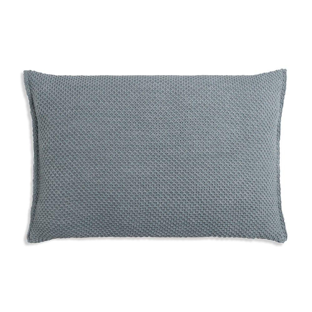 knit factory 1261389 kussen 60x40 zoe stone green melee 2