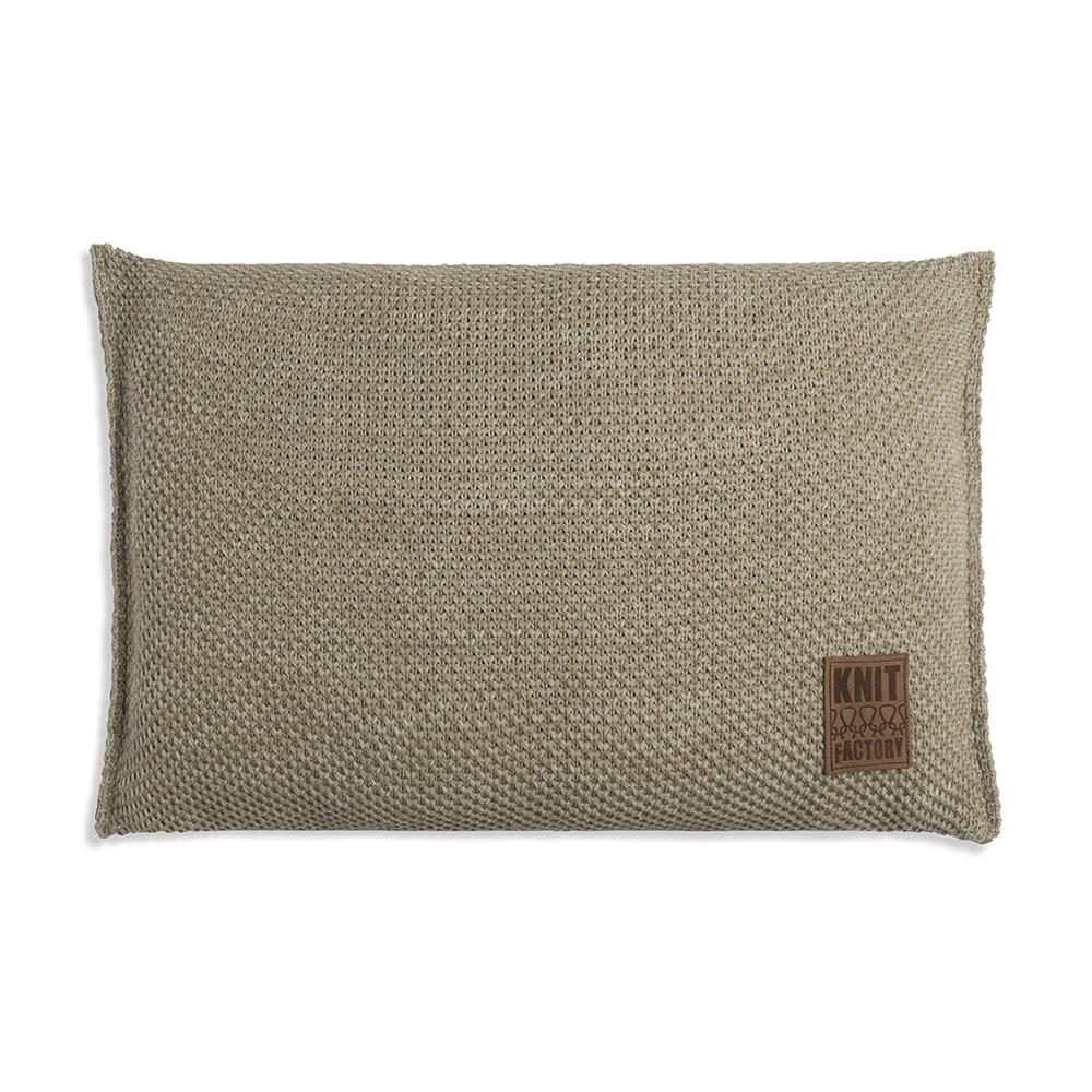 knit factory 1261393 kussen 60x40 zoe olive melee 1