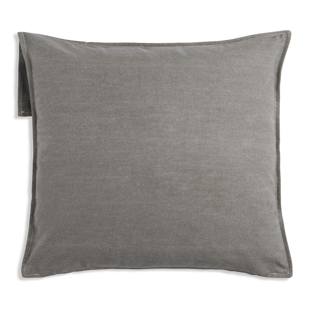 knit factory 1271214 kussen 50x50 luc groen 2