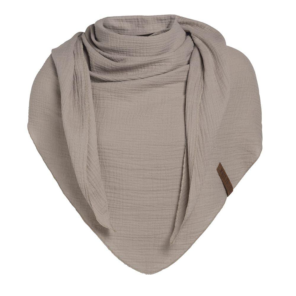 knit factory 1286012 liv omslagdoek beige 1