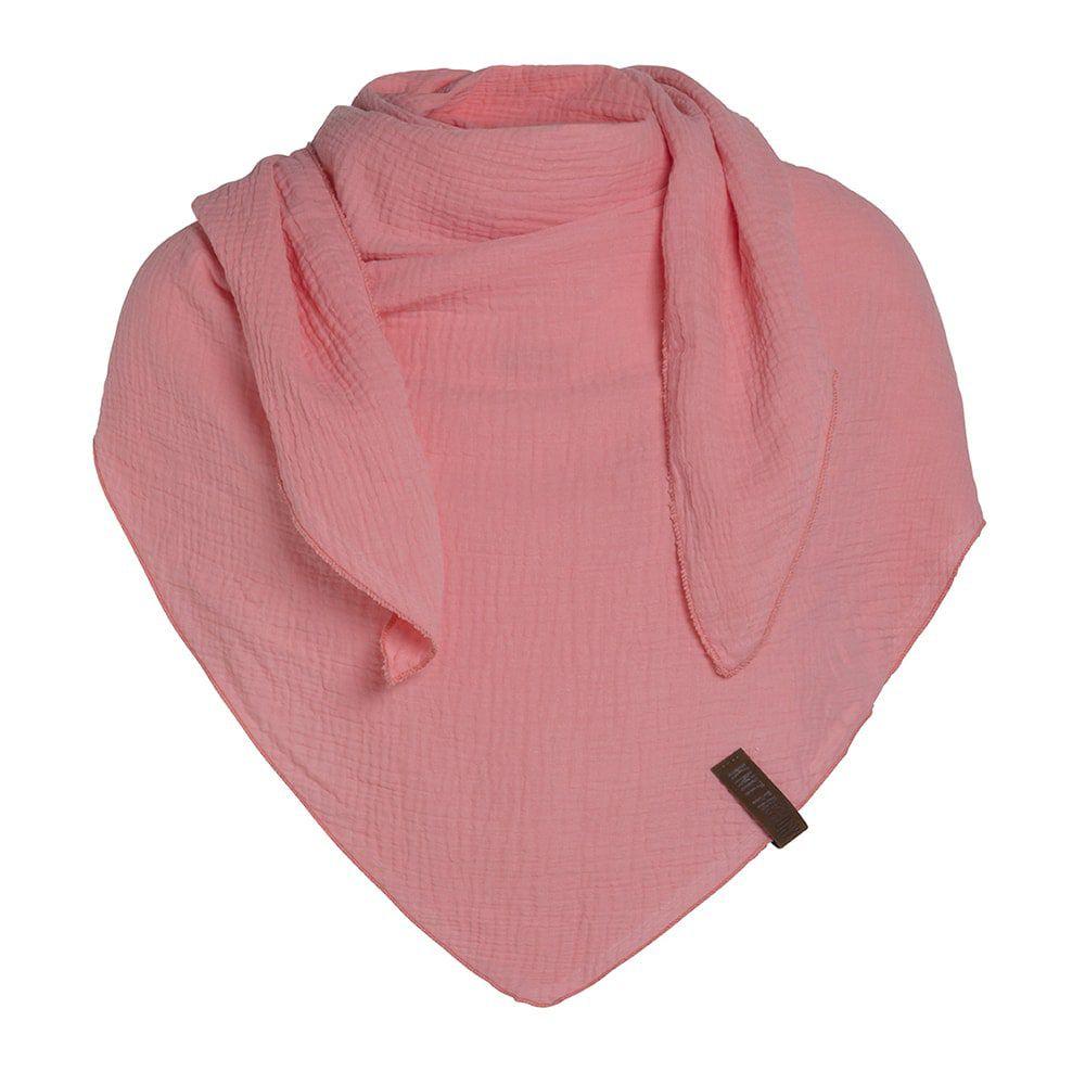 knit factory 1286031 liv omslagdoek coral 1