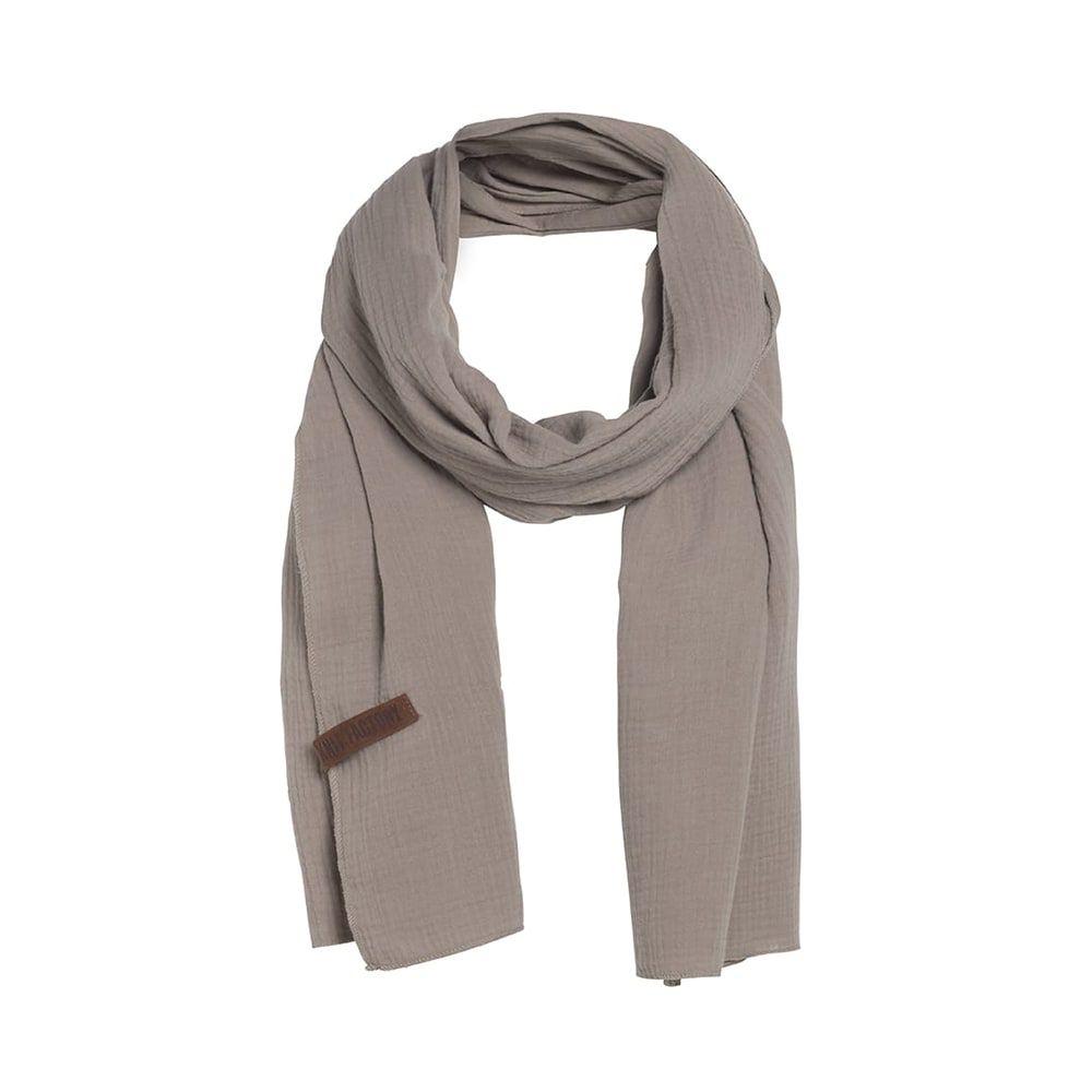 knit factory 1286512 liv sjaal beige 1
