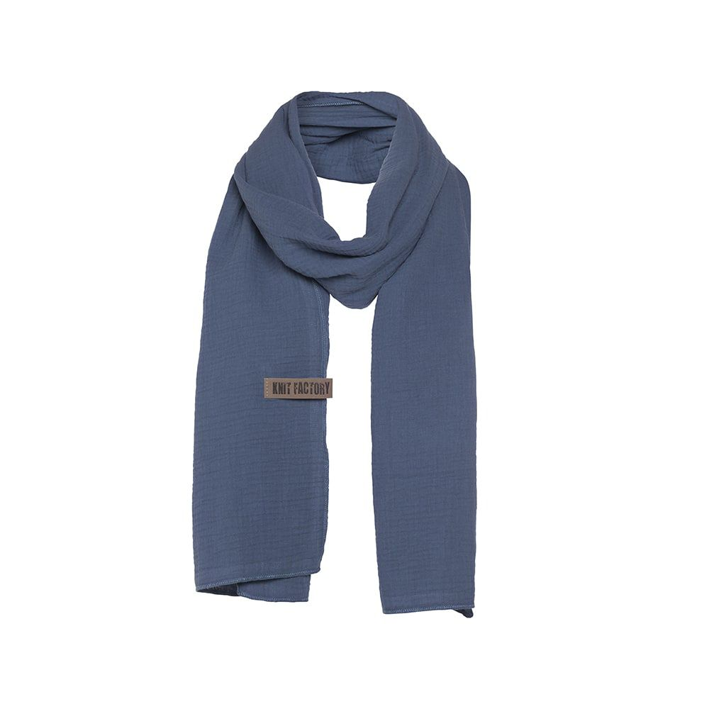 knit factory 1286513 liv sjaal jeans 1