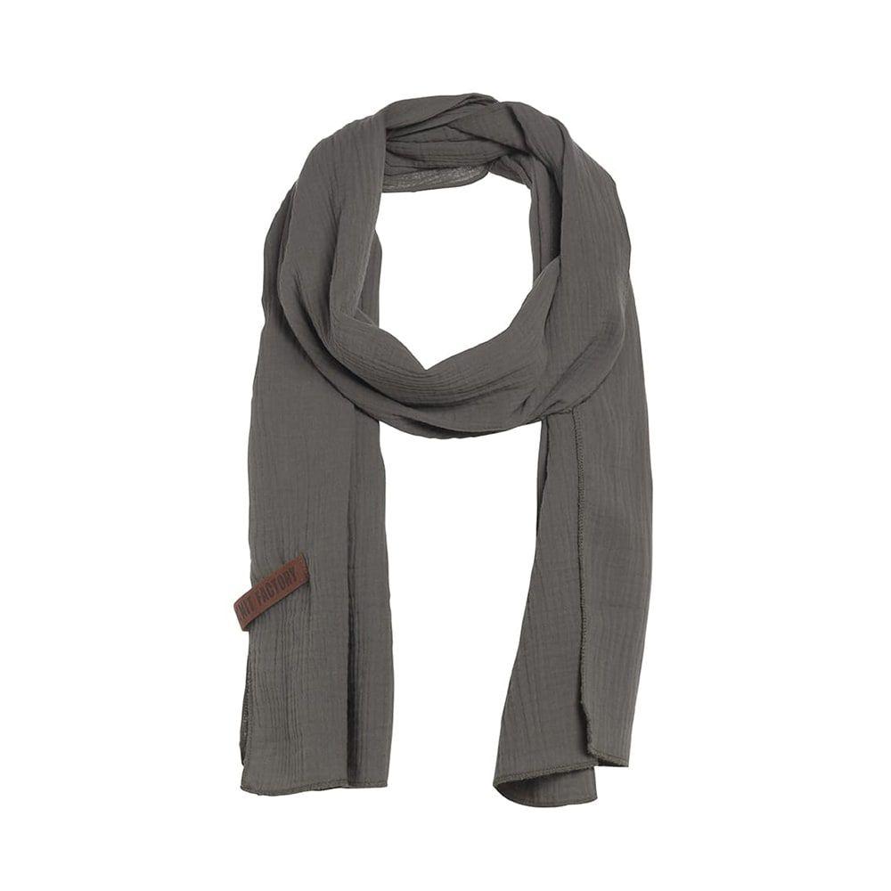 knit factory 1286514 liv sjaal groen 1