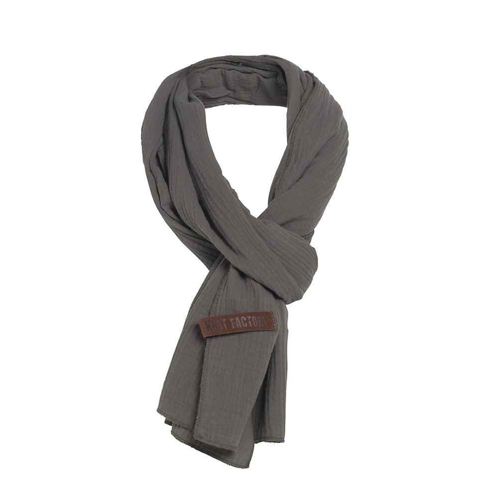 knit factory 1286514 liv sjaal groen 2