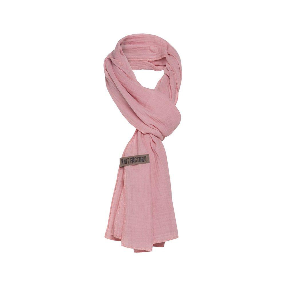 knit factory 1286521 liv sjaal roze 2