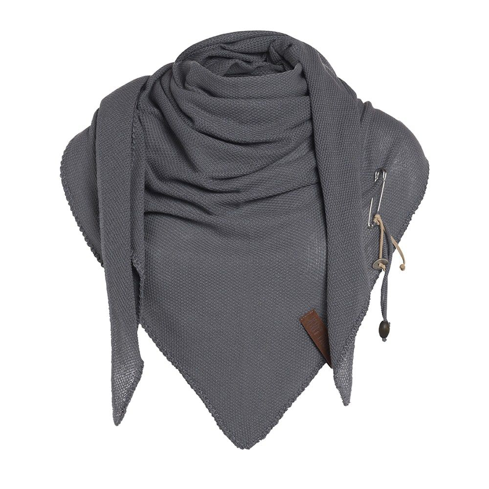 knit factory 1306006 lola omslagdoek med grey1