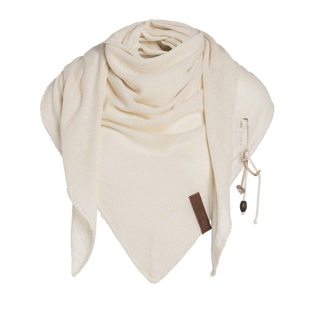 knit factory 1306019 lola omslagdoek ecru1