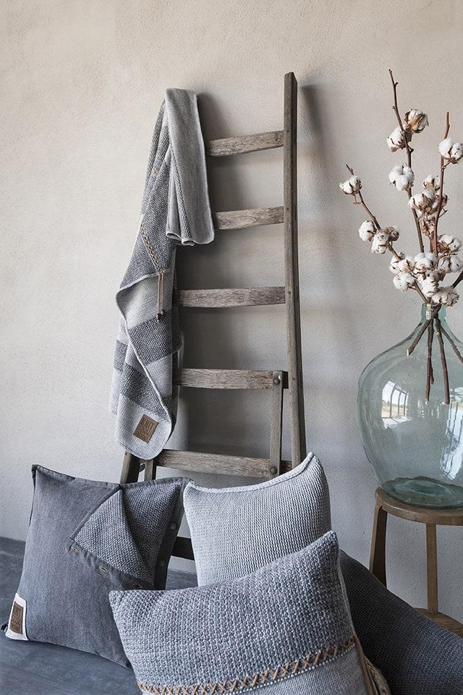 knit factory 1311151 roxx plaid grijs antraciet 4