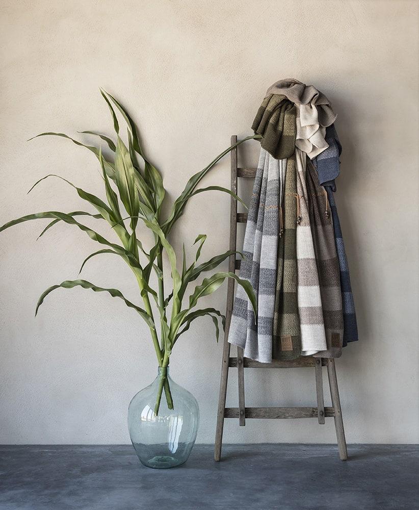 knit factory 1311151 roxx plaid grijs antraciet 8