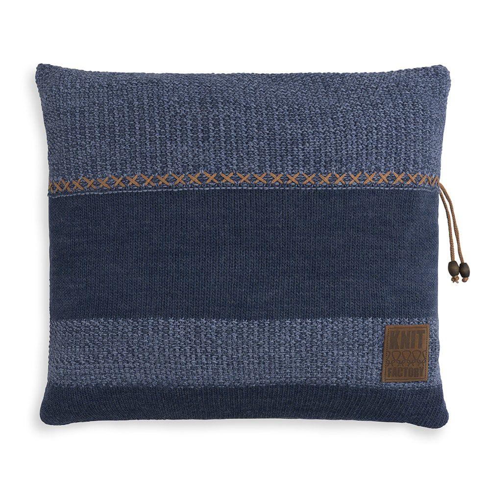 knit factory 1311254 roxx kussen 50x50 jeans indigo 1