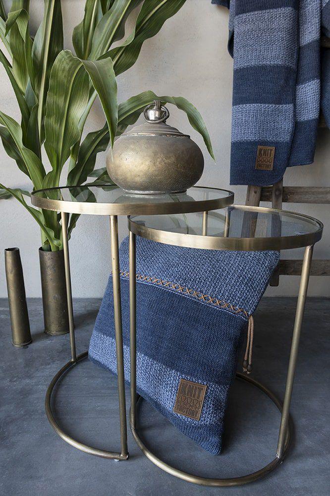 knit factory 1311254 roxx kussen 50x50 jeans indigo 4