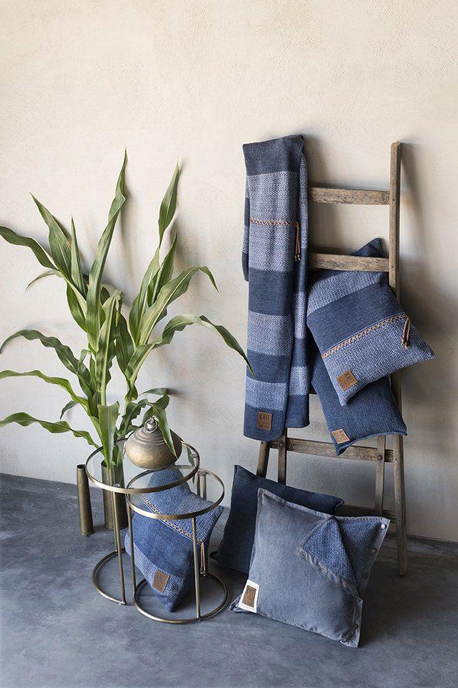 knit factory 1311254 roxx kussen 50x50 jeans indigo 7
