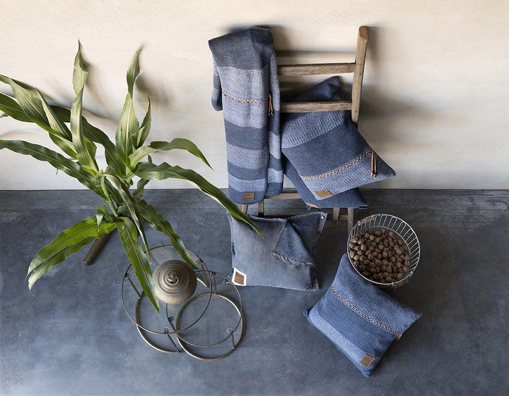 knit factory 1311254 roxx kussen 50x50 jeans indigo 8