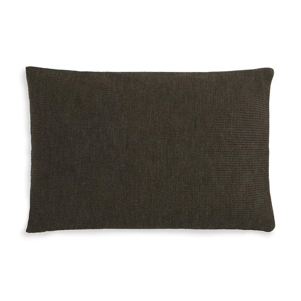knit factory 1311344 roxx kussen 60x40 groen olive 2