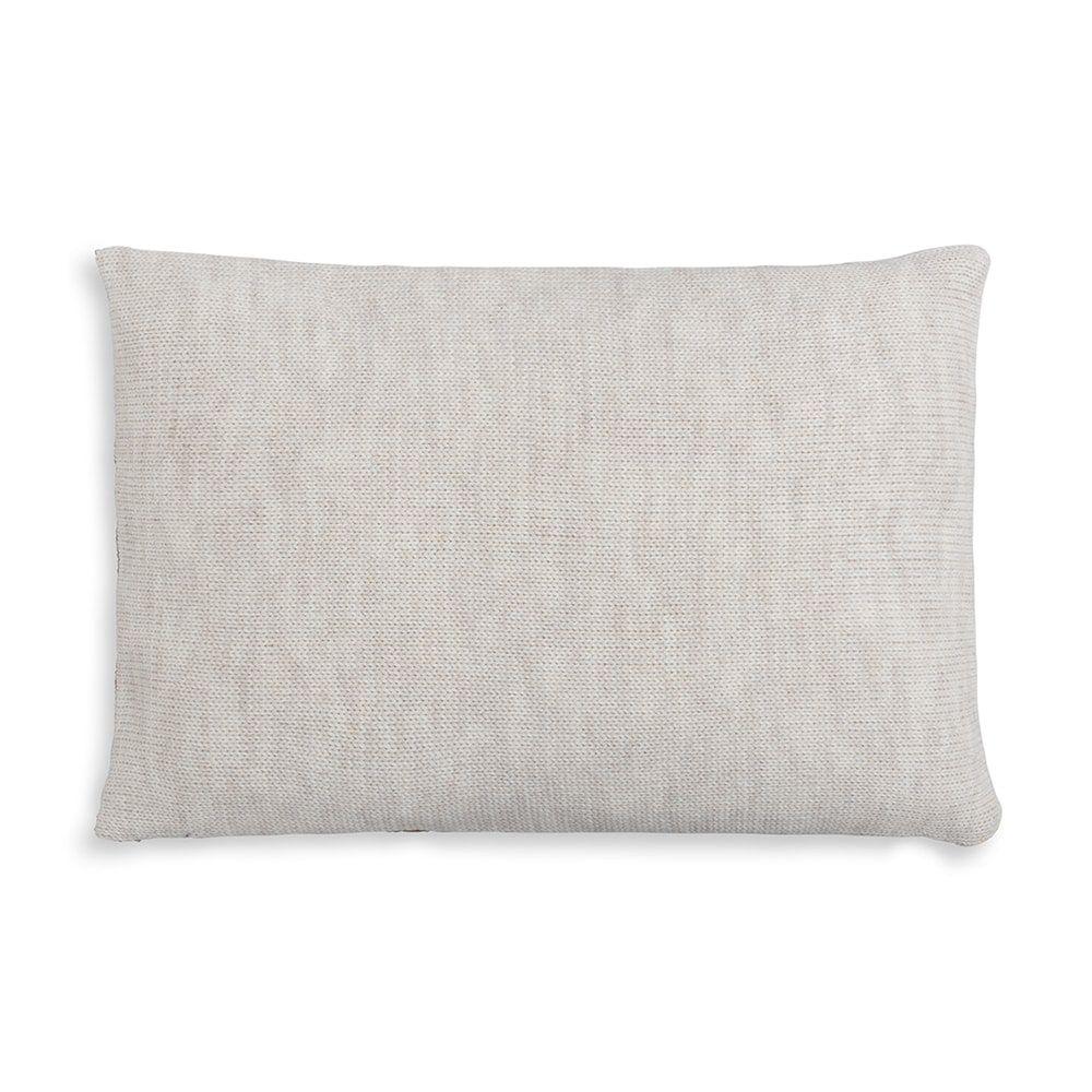 knit factory 1311352 roxx kussen 60x40 beige marron 2