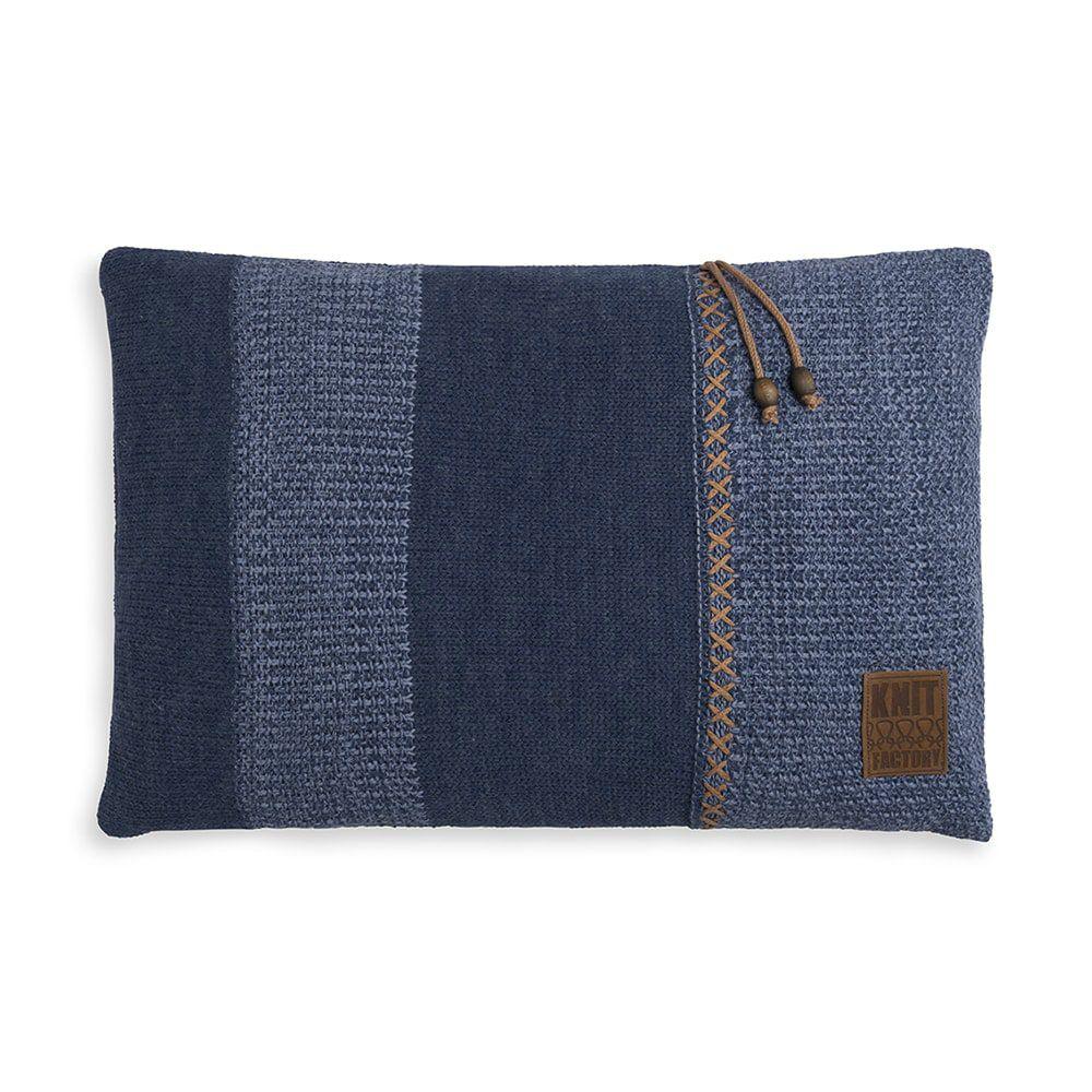 knit factory 1311354 roxx kussen 60x40 jeans indigo 1