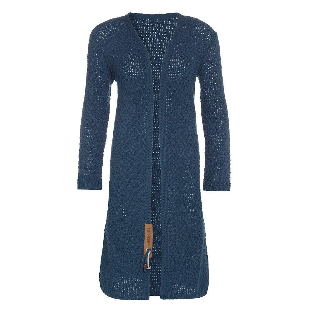 knit factory 1336208 luna vest 3638 petrol 1