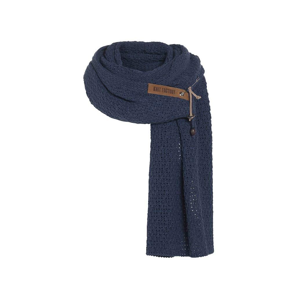 knit factory 1336513 luna sjaal jeans 1