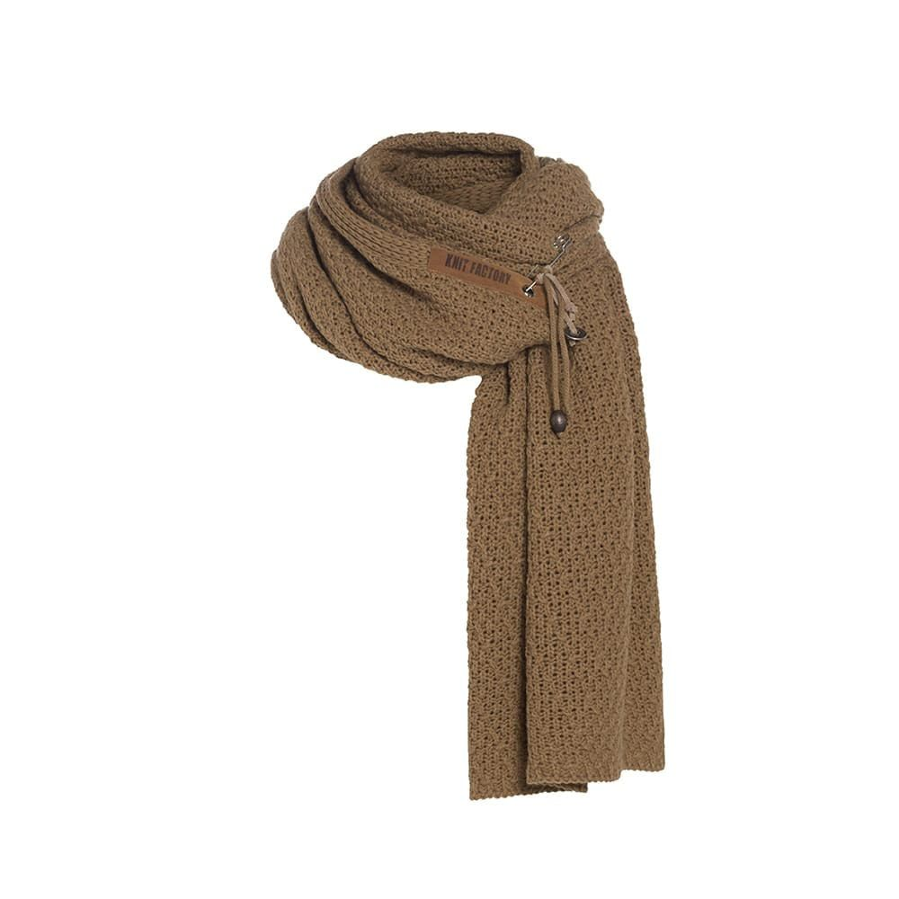 knit factory 1336520 luna sjaal new camel 1