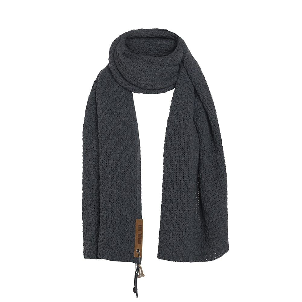 knit factory 1336526 luna sjaal navy 2