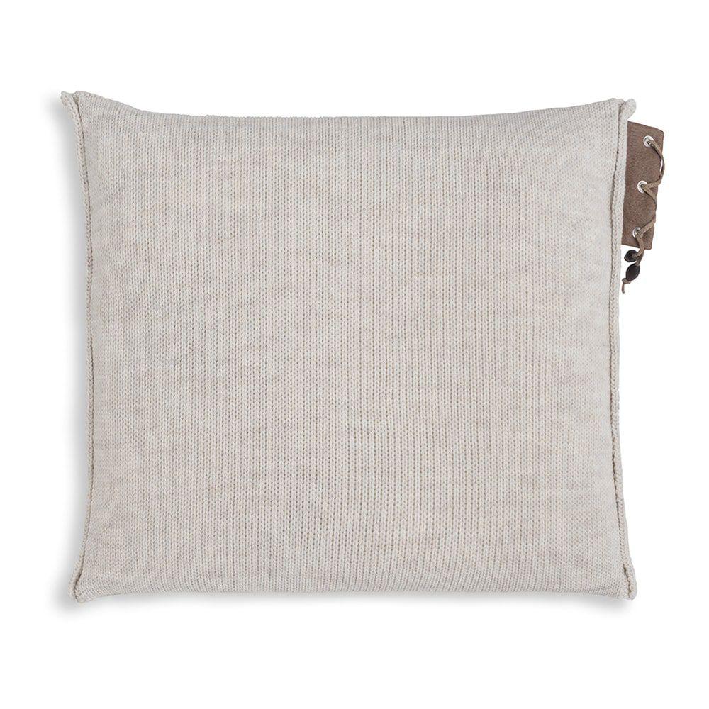 knit factory 1341212 jay kussen 50x50 beige 2