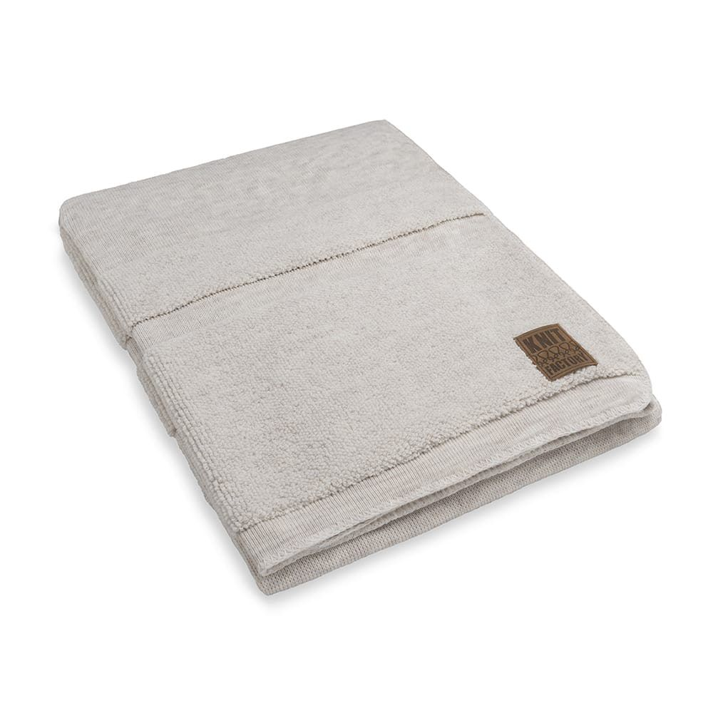 knit factory 1351112 yara plaid beige 1