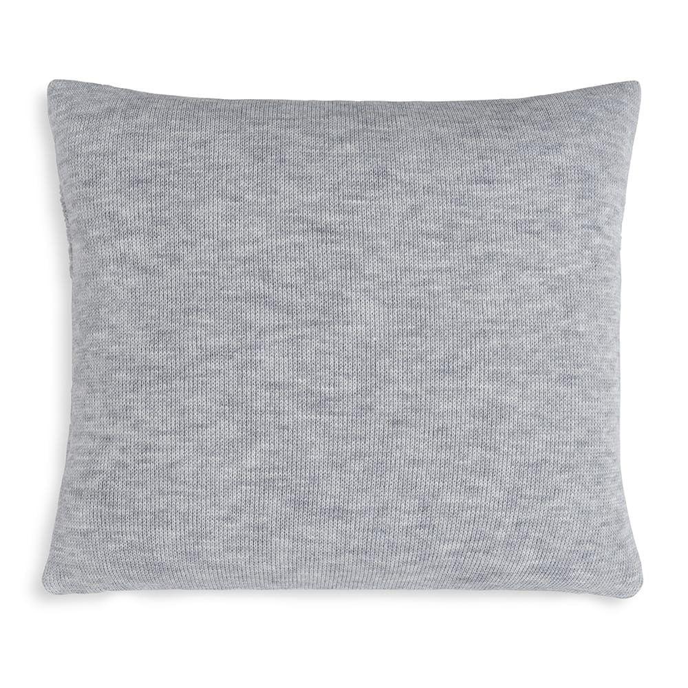 knit factory 1351211 yara kussen 50x50 licht grijs 2
