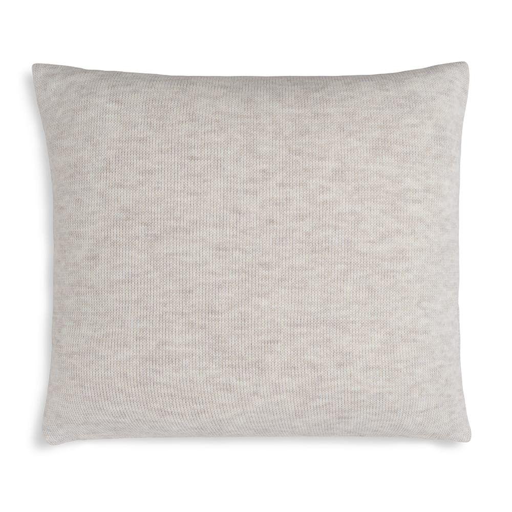 knit factory 1351212 yara kussen 50x50 beige 2