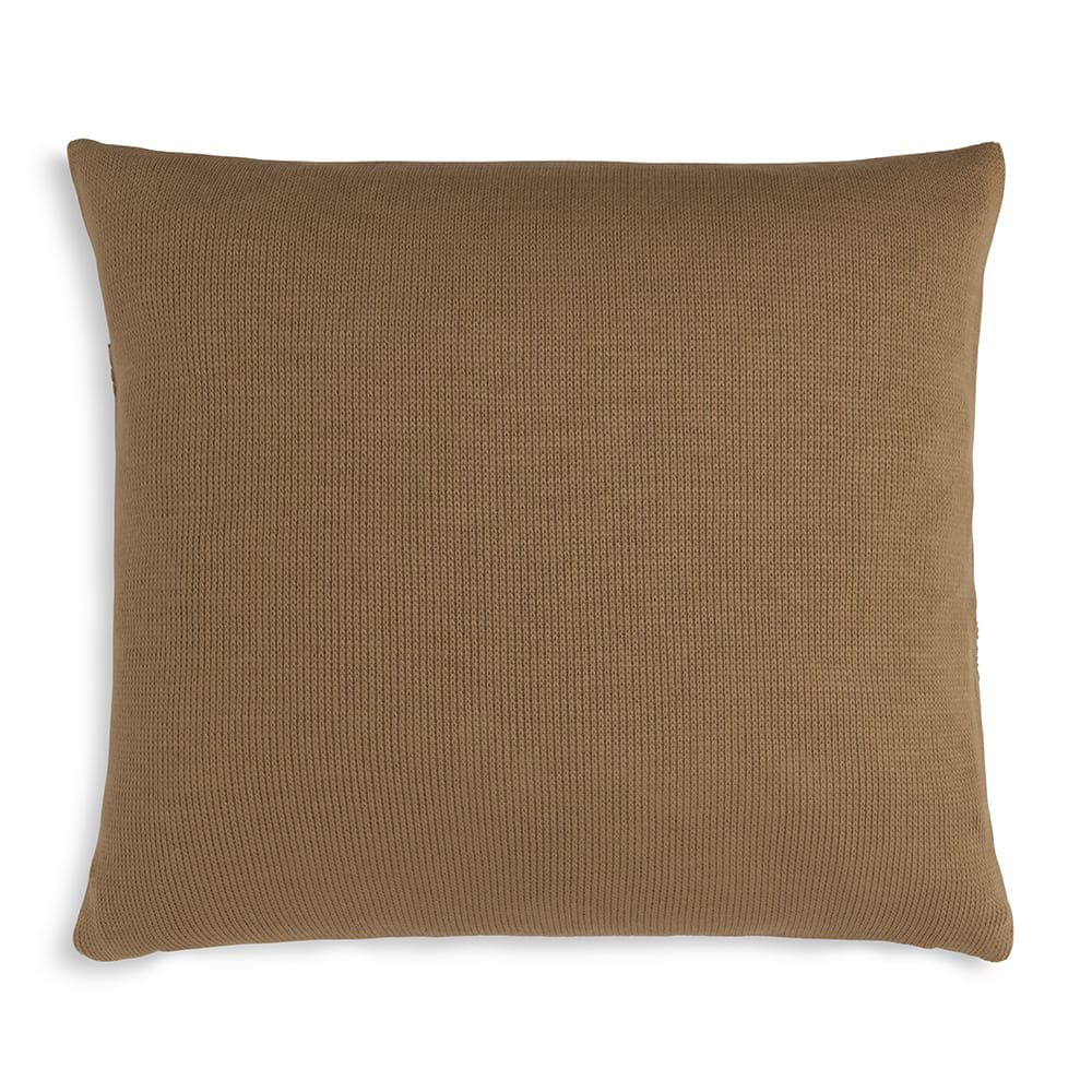 knit factory 1351220 yara kussen 50x50 new camel 2