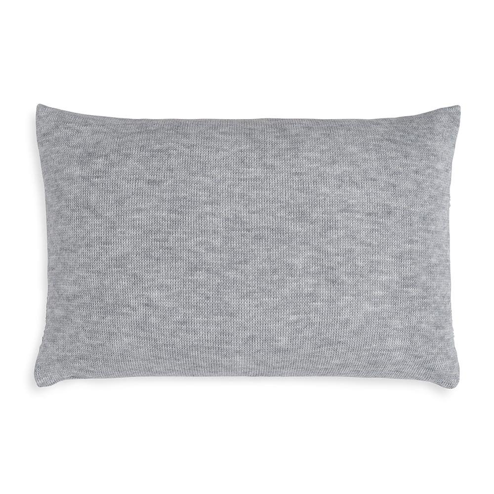 knit factory 1351311 yara kussen 60x40 licht grijs 2