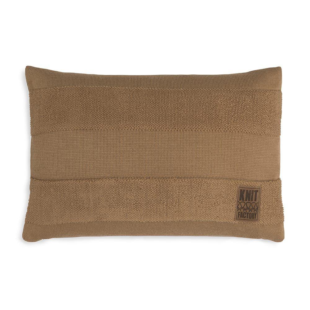 knit factory 1351320 yara kussen 60x40 new camel 1